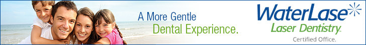 Waterlase Laser Dentistry is a more gentle dental experience.